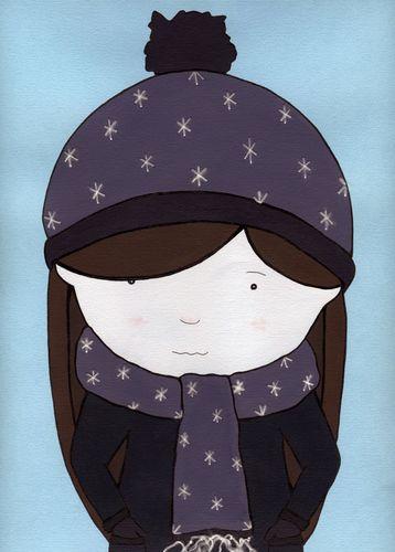 Hat, gloves & scarf
